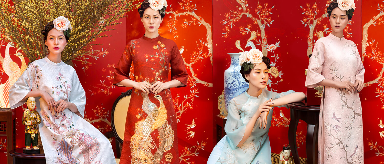 'Lunar New Year 2018' Áo Dài Collection